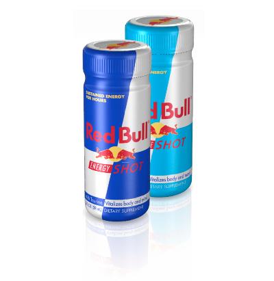 Red Bull energy shots