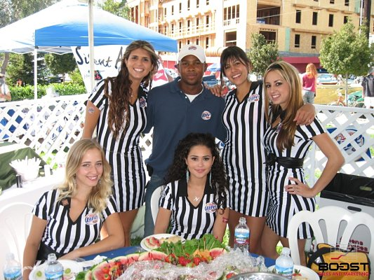 Paul Gage with Sexy Miller Lite Girls