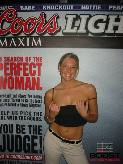 Sexy Coors Light Beer girls