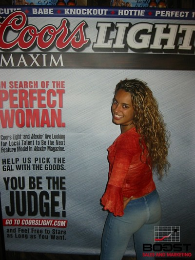 Sexy Coors Light Beer Girl Search boost sales and marketing