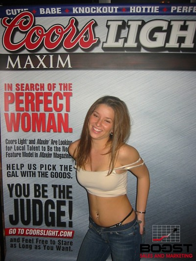 Coors Light Girl Search
