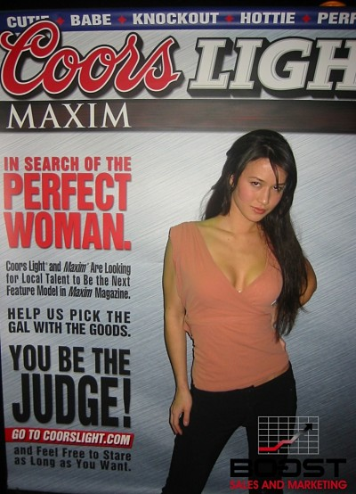 Sexy Coors Light Maxim Girl Search - how to become a promotional model looking as sexy as this girl