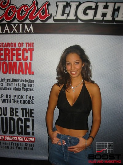 Sexy Latina with Nice Breast wants to be a Coors Light Maxim Girl Search