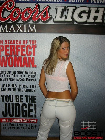 Sexy Coors Light Season Girl Search