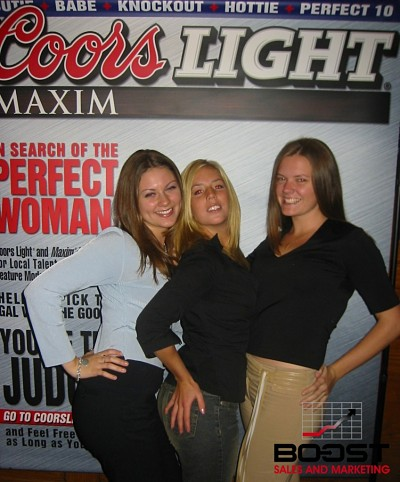 Sexy Coors Light Maxim Girl Search brought to you by boost sales and marketing