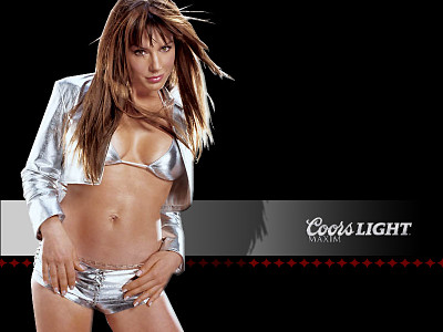 Coors Light Spokesmodel and Maxim Girl Search Model - become a coors light maxim girl