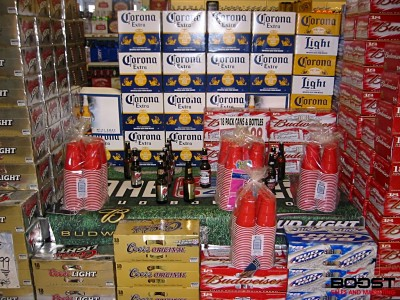 Coors light and bud light beer display Boost Sales and Marketing Blog