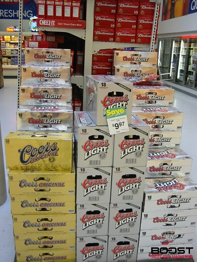 Coors light display2
