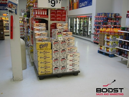 Coors Light Beer Display That will Boost Sales and Marketing