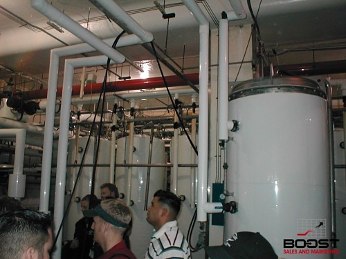 Coors Brewing companies cold filtering tanks