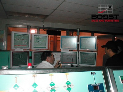 Coors brewery control room in golden Colorado