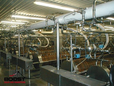 Coors brewery making Coors light filtering process