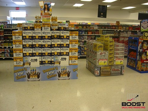 Corona Beer Display