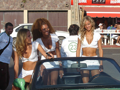 Heineken Promotional Models