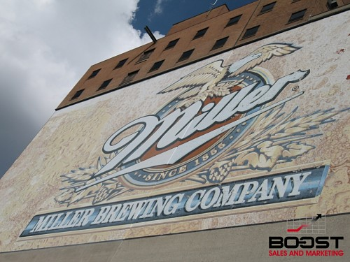 Miller Brewery Front Entrance