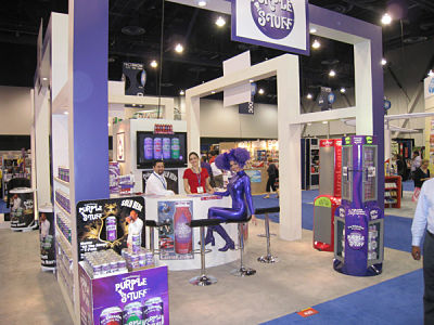Purple Stuff at the Nacs Tradeshow Marketing Secrets to Boost your Tradeshow Return on Investment