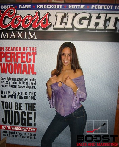 Sexy Coors Light Girl