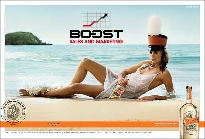 Cane Beverage Poster Model