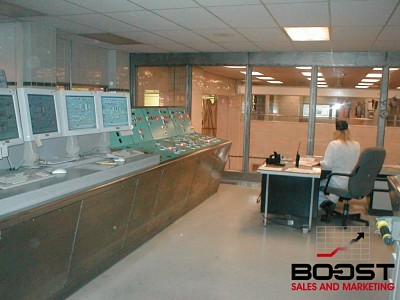 Pictures of the Coors Brewing Company control room