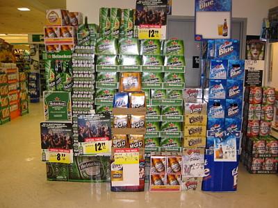 beer displays